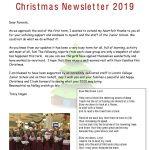 Newsletter 2019 Christmas