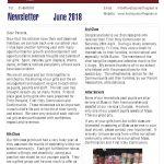 Newsletter 2019 April