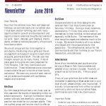 Newsletter 2019 June