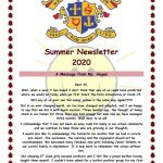 Newsletter 2020 Summer